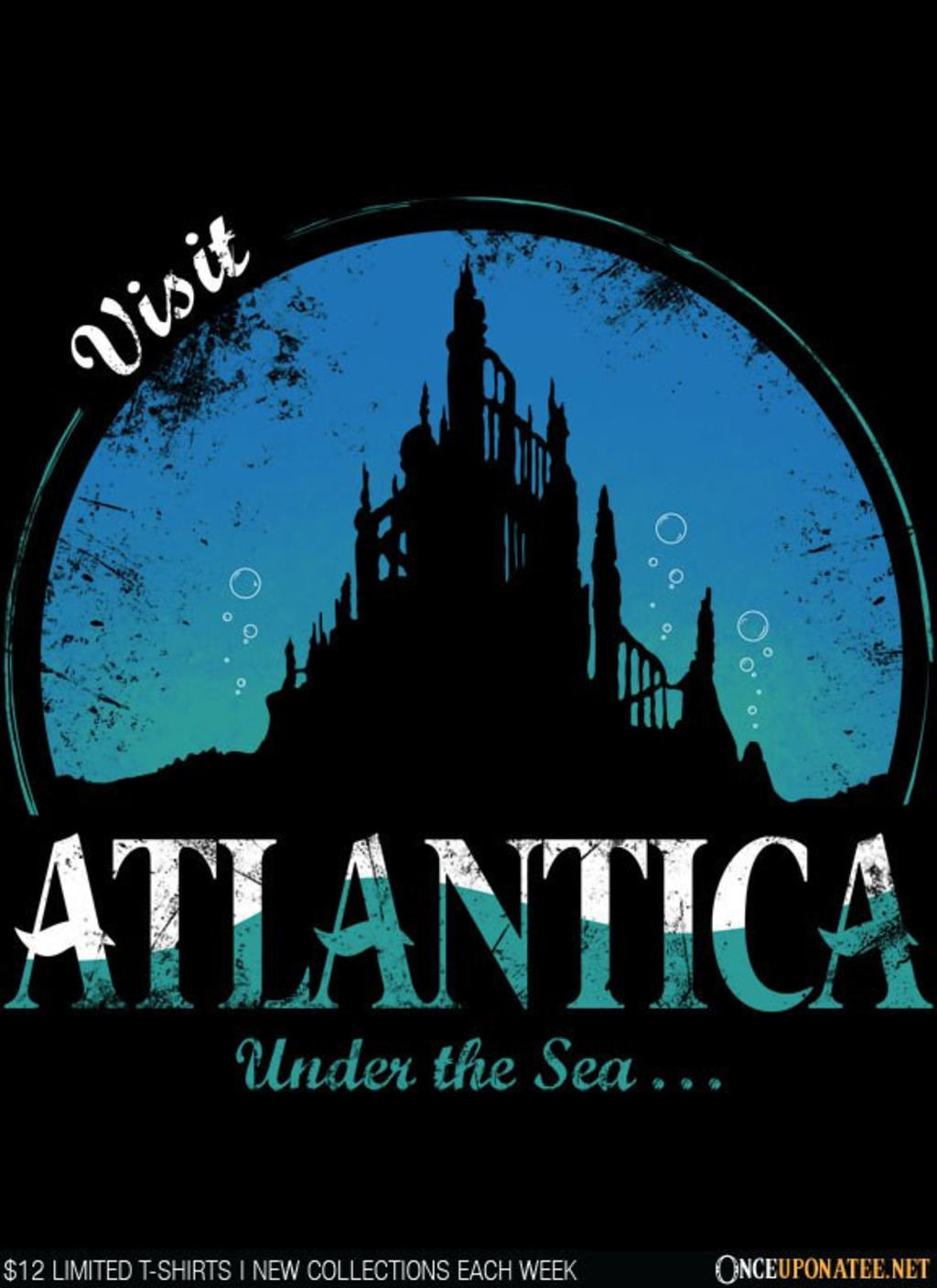 Once Upon a Tee: Visit Atlantica