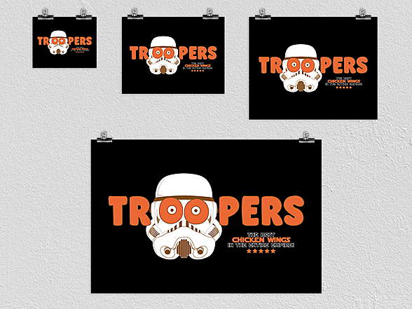 Woot!: Troopers Poster