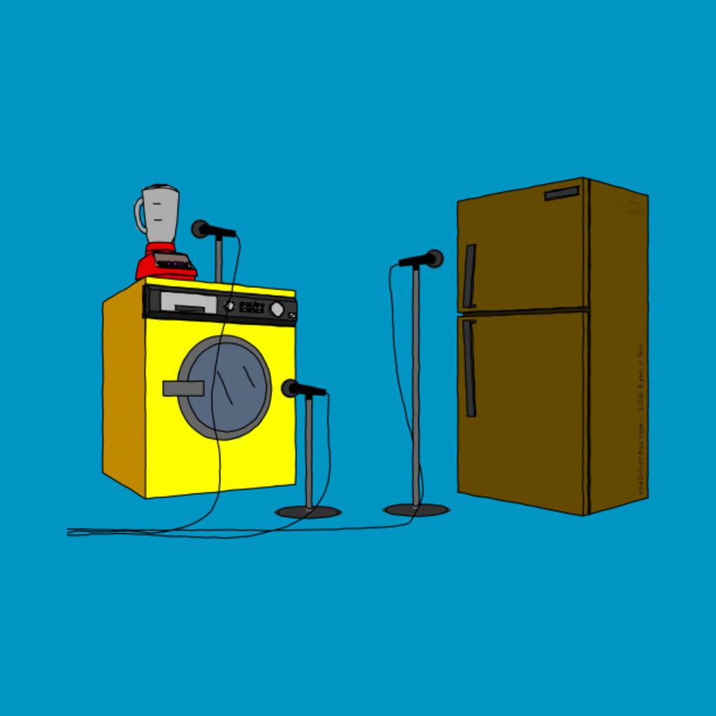 TeePublic: Appliance NuWavo T-Shirt