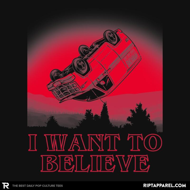 Ript: I Want To Believe Strange Things