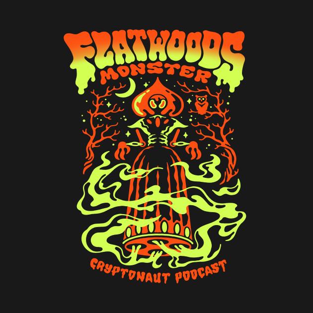 TeePublic: Flatwoods Monster X Cryptonaut Podcast
