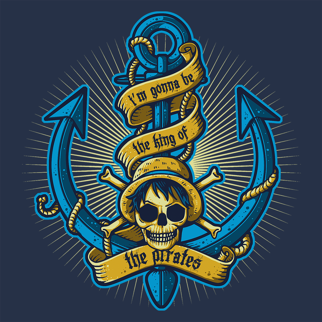 Pop-Up Tee: King Of Pirates Anchor