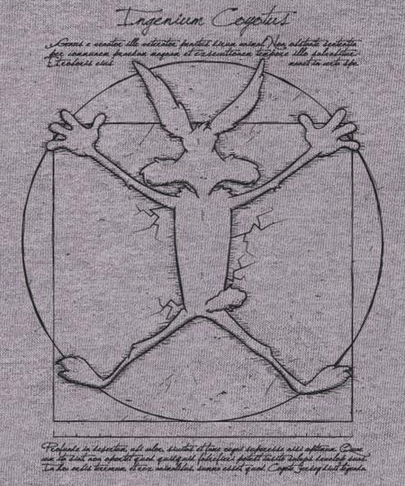 Qwertee: Ingenium coyotus