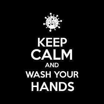 BustedTees: Keep Calm and Wash Your Hands
