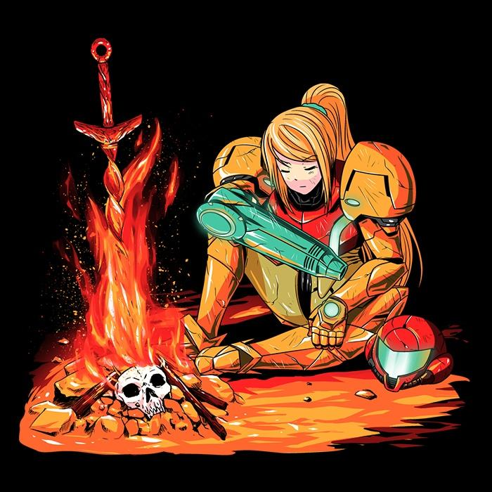 Once Upon a Tee: Dark Samus