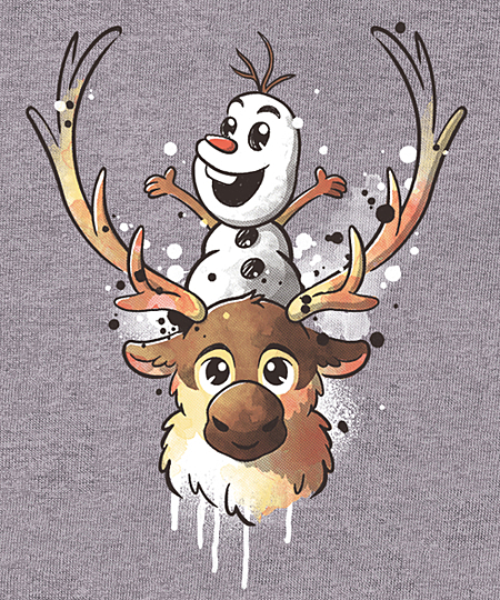 Qwertee: Winter friends