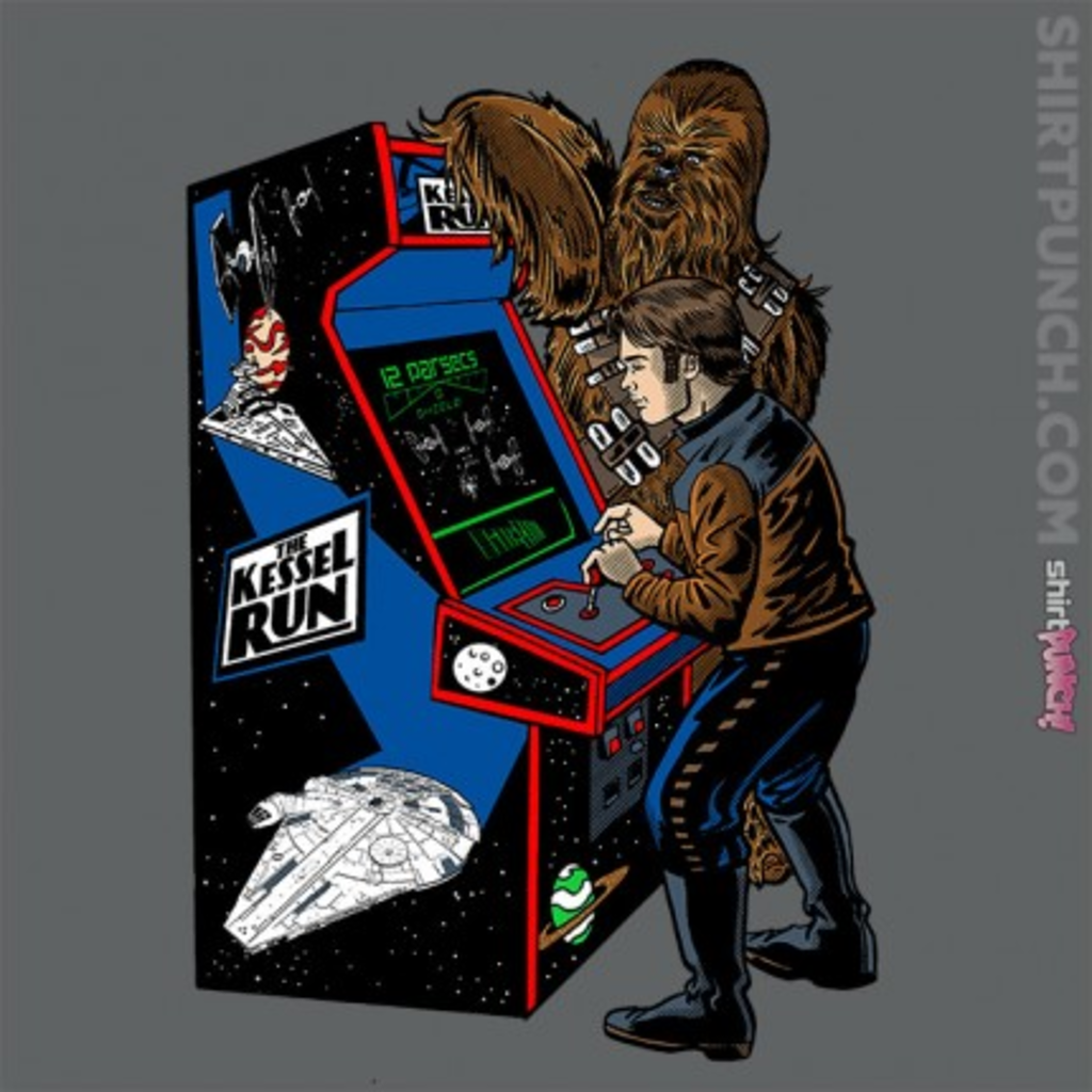 ShirtPunch: Solo Kessel Run