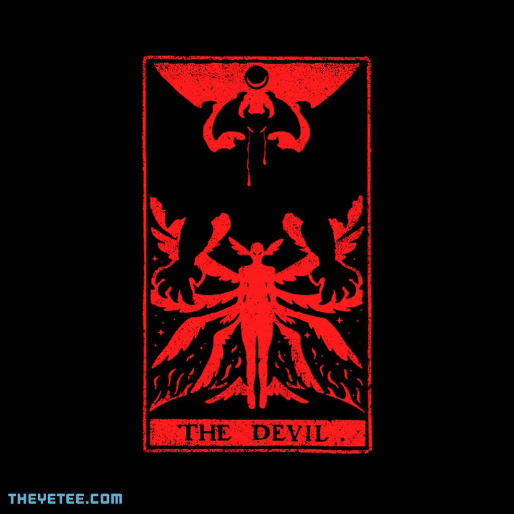 The Yetee: DEVIL TAROT