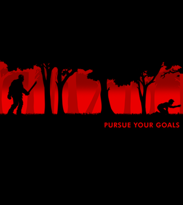 teeVillain: Prusue Your Goals