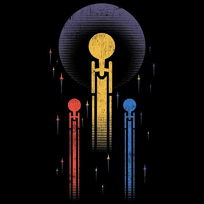 Once Upon a Tee: Boldly Go