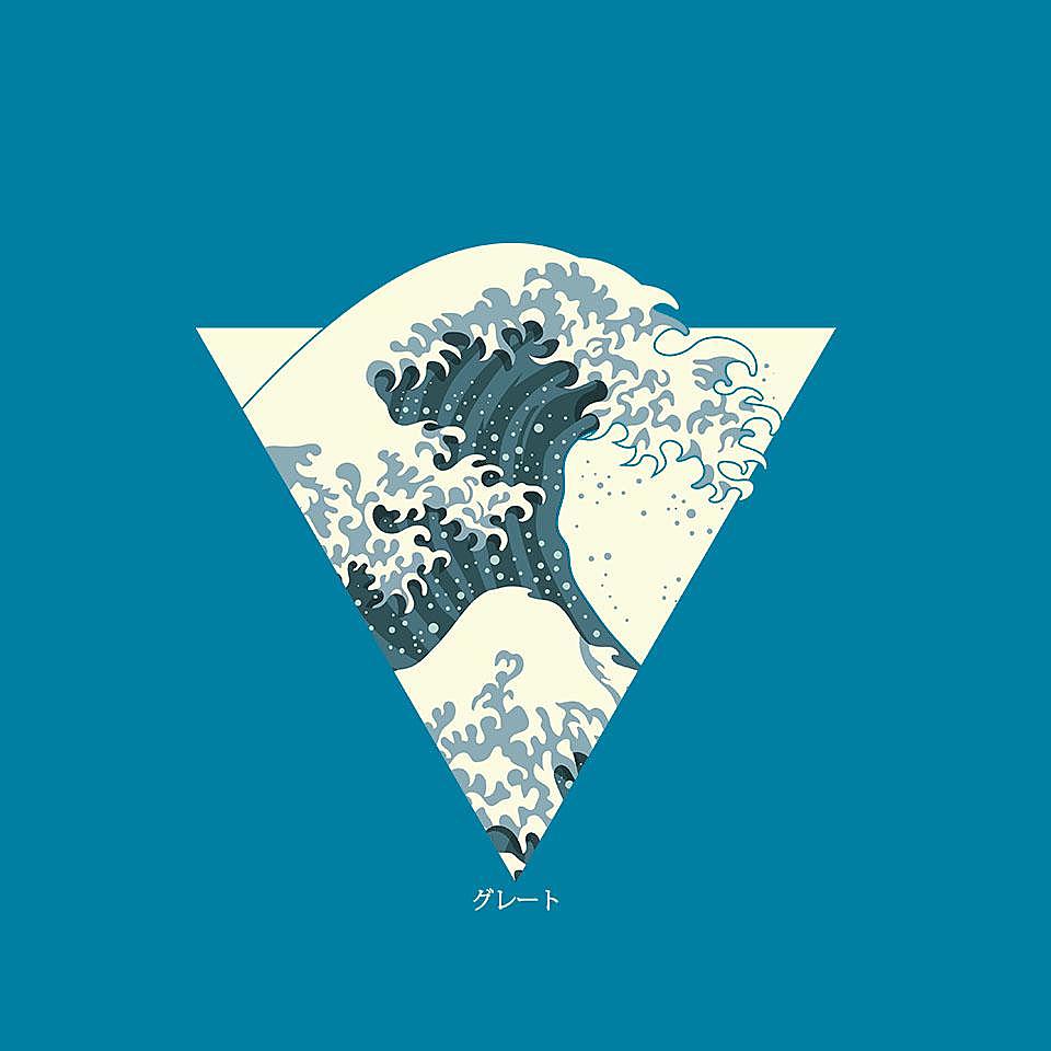 TeeFury: Great Wave