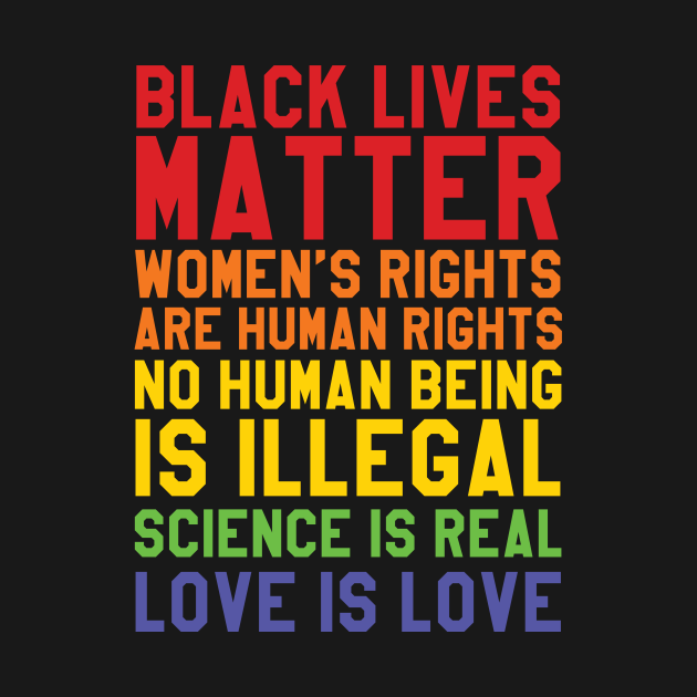 TeePublic: Black Lives Love Is Love