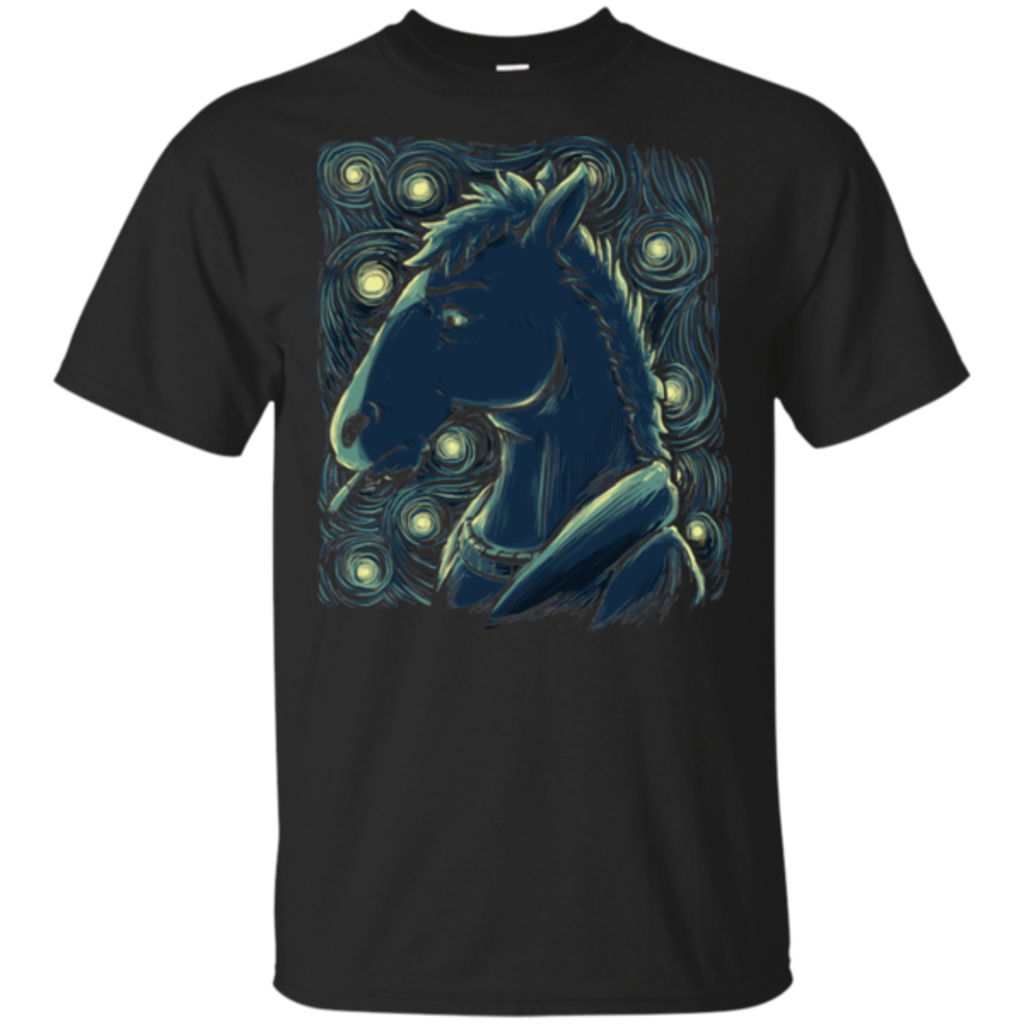 Pop-Up Tee: Starry Horse