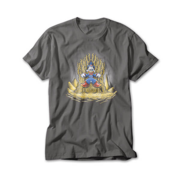 OtherTees: Gold throne