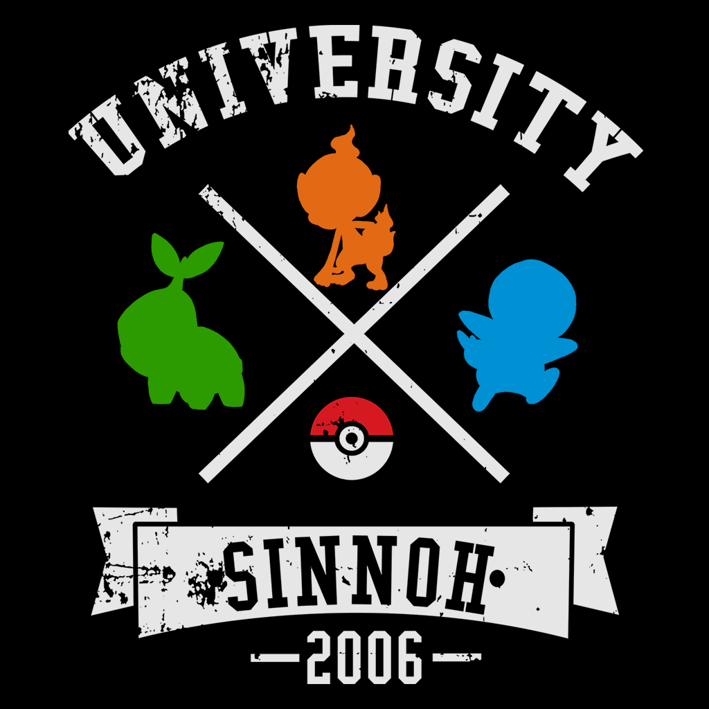 Pop-Up Tee: University Sinnoh