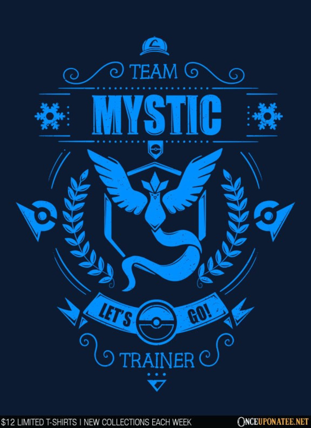 Once Upon a Tee: Team Mystic