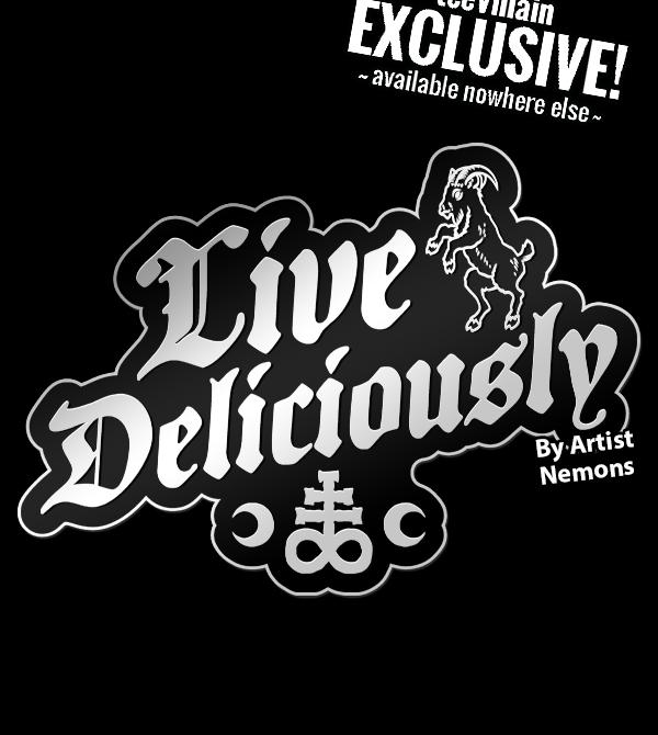 teeVillain: Live Delic