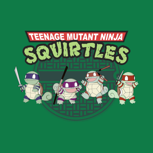 TeePublic: Teenage Mutant Ninja Squirtles T-Shirt