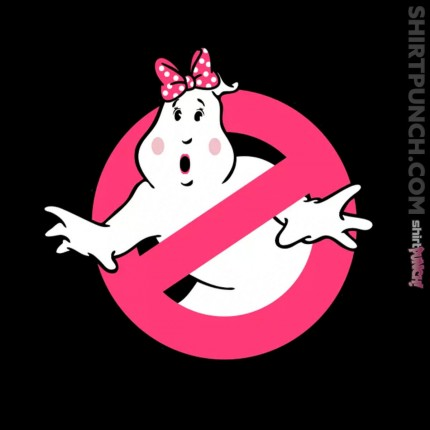 ShirtPunch: Lady Ghostbusters