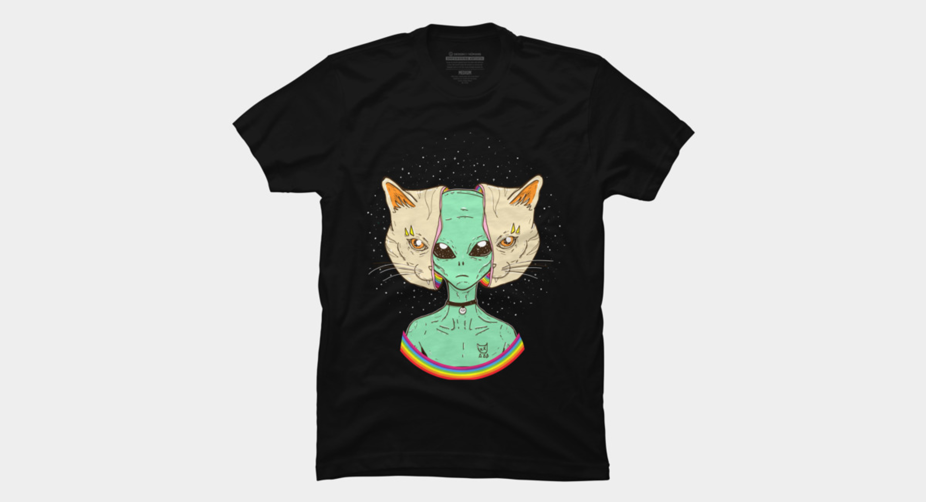 Design by Humans: ALIEN CAT