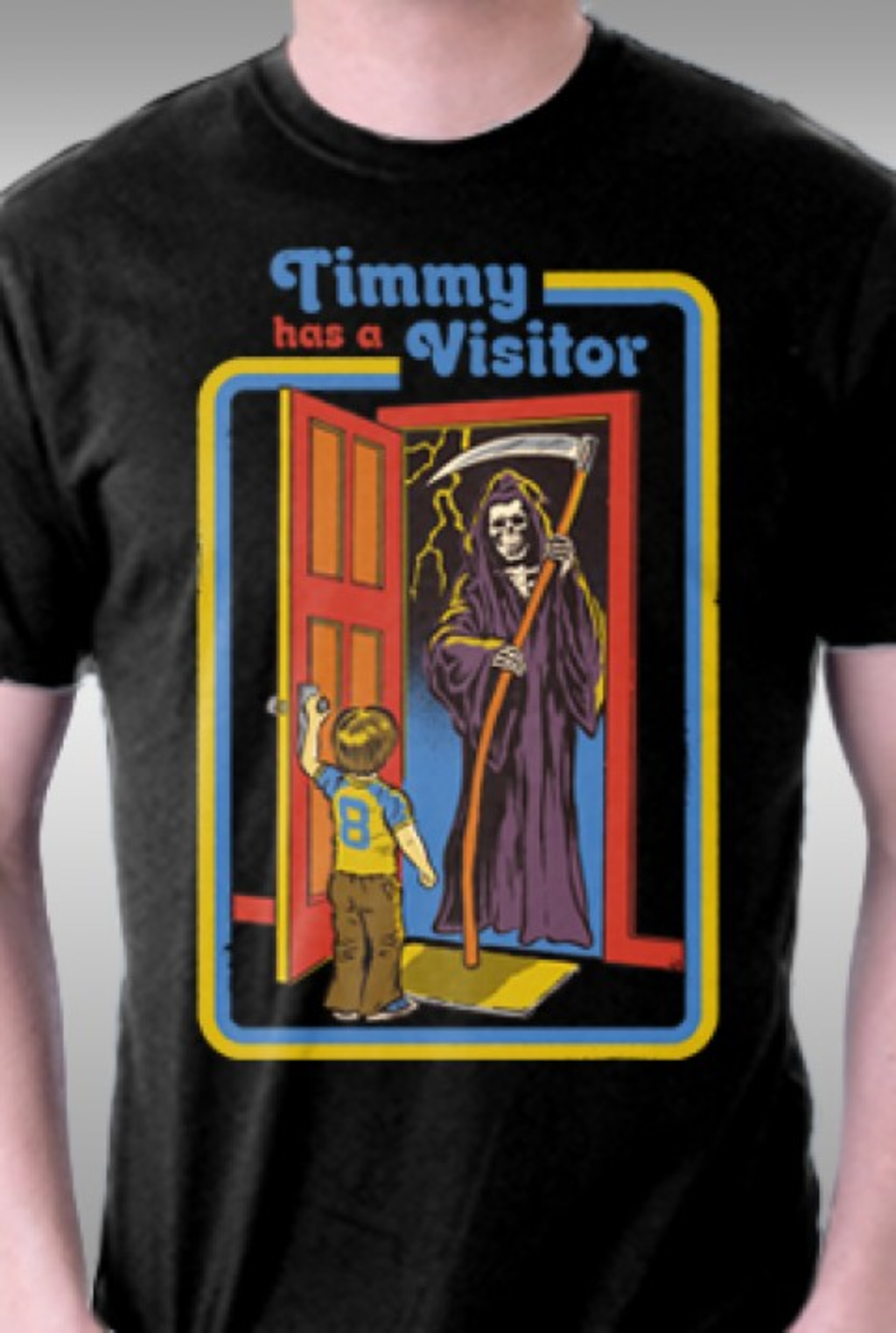 TeeFury: Timmy Has A Visitor