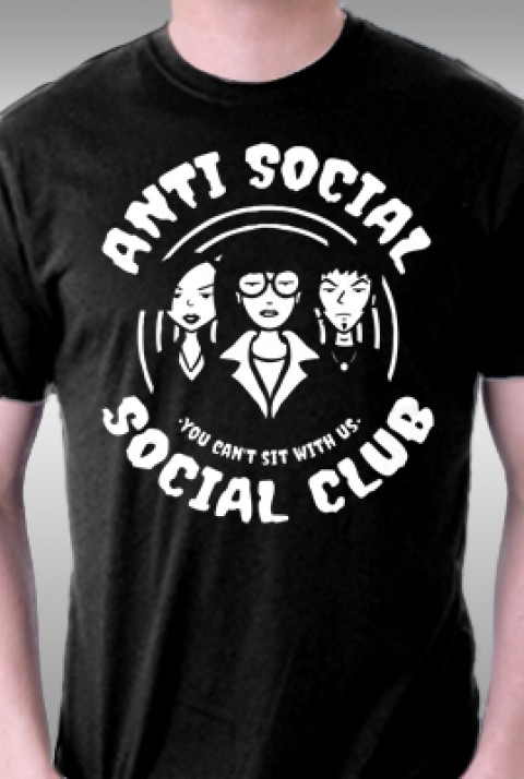 TeeFury: Anti Social Club