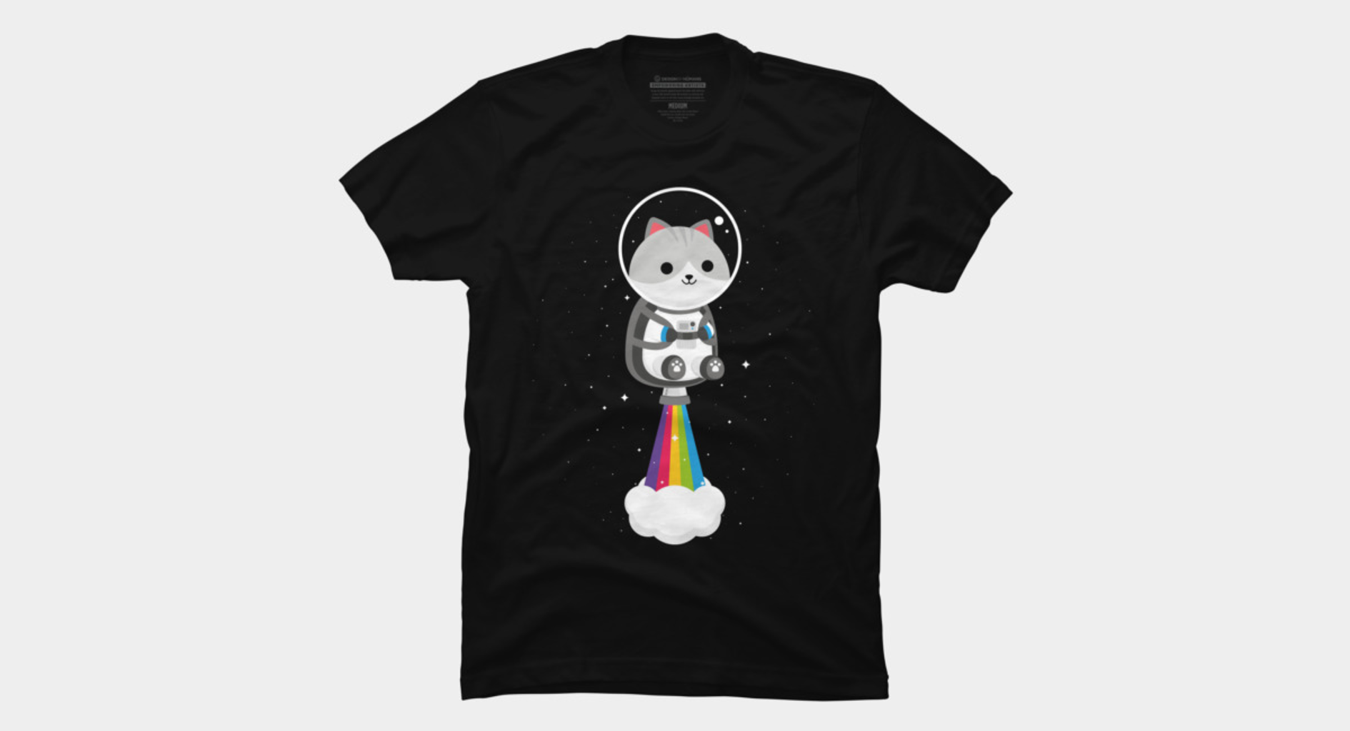 Design by Humans: Space Cat