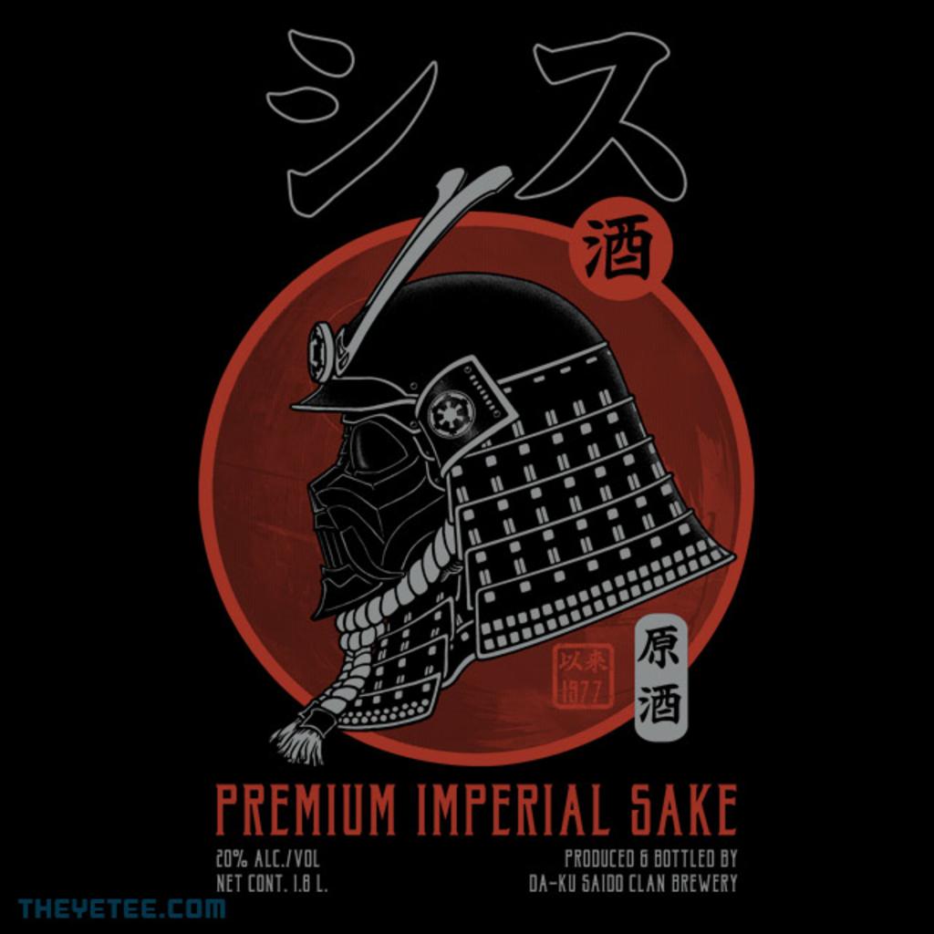 The Yetee: Premium Sith Sake