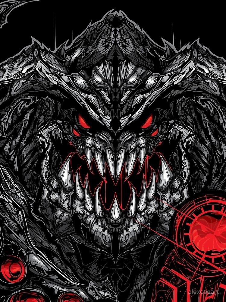 RedBubble: CyberDemon - Doom 4 // Fan-Art