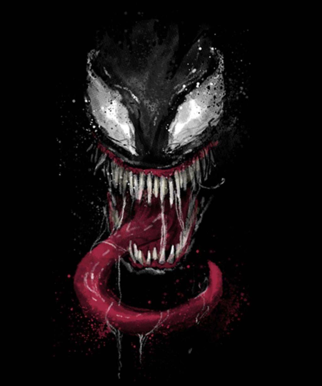 Qwertee: splatter venom