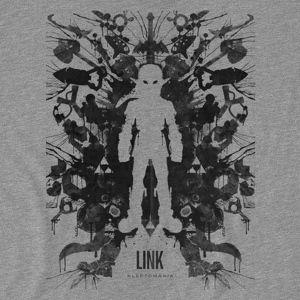 Pop-Up Tee: Link Blot