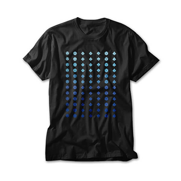 OtherTees: Dice fade