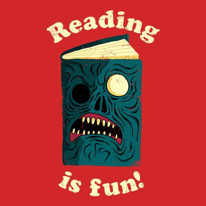 Once Upon a Tee: Reading is Fun