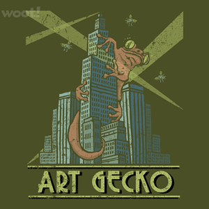 Woot!: Art Gecko