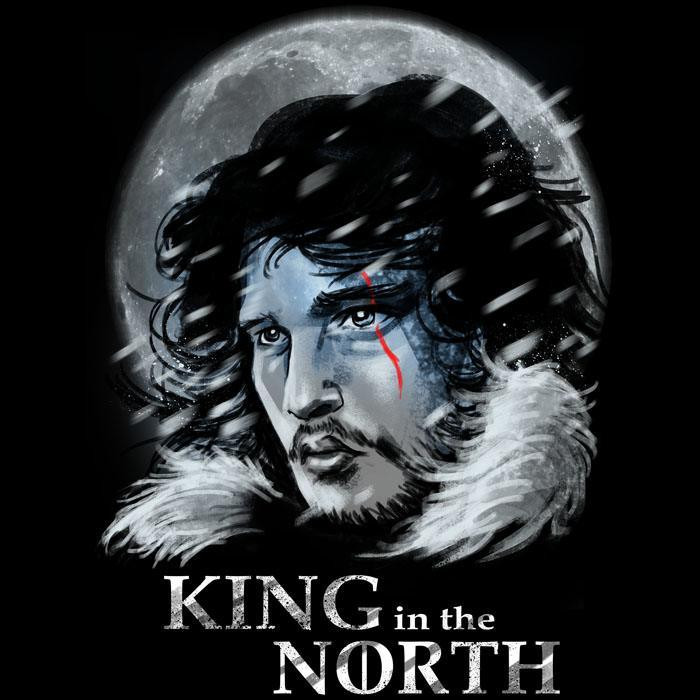 We Heart Geeks: King in the North - Men's T-Shirt