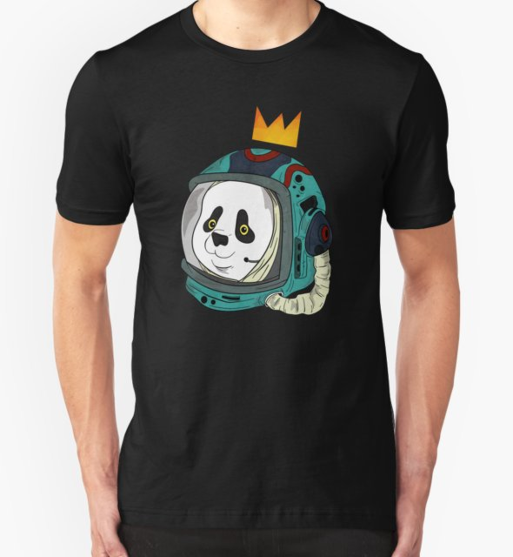 RedBubble: Space King