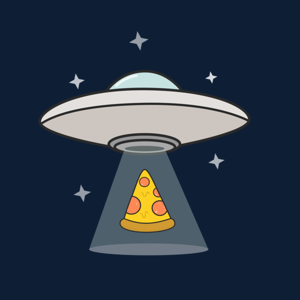 NeatoShop: Foodie UFO Pizza Abduction