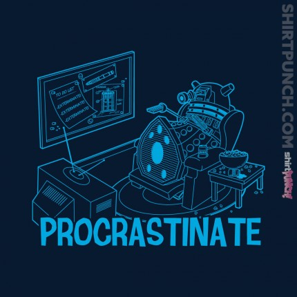 ShirtPunch: Procrastinate