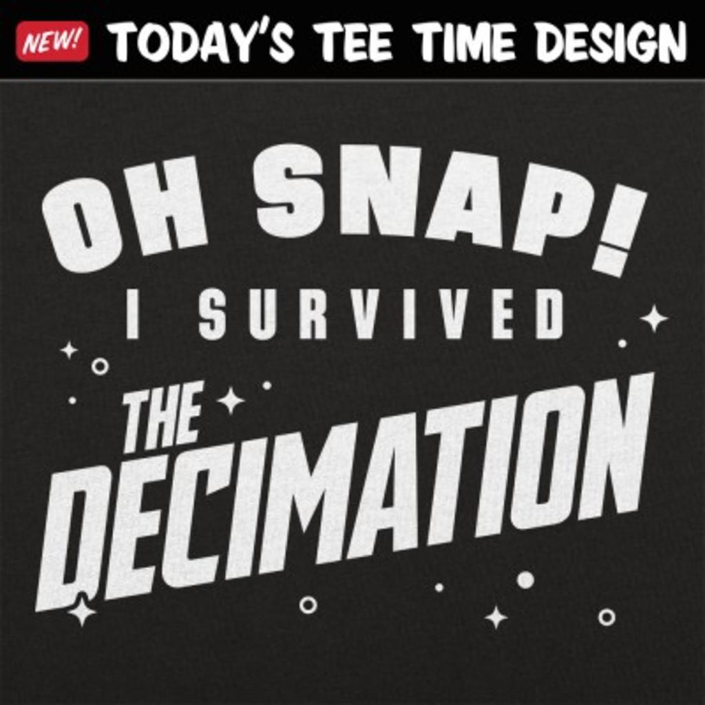 6 Dollar Shirts: The Decimation