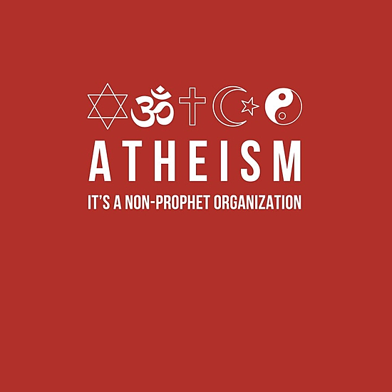 BustedTees: Atheism