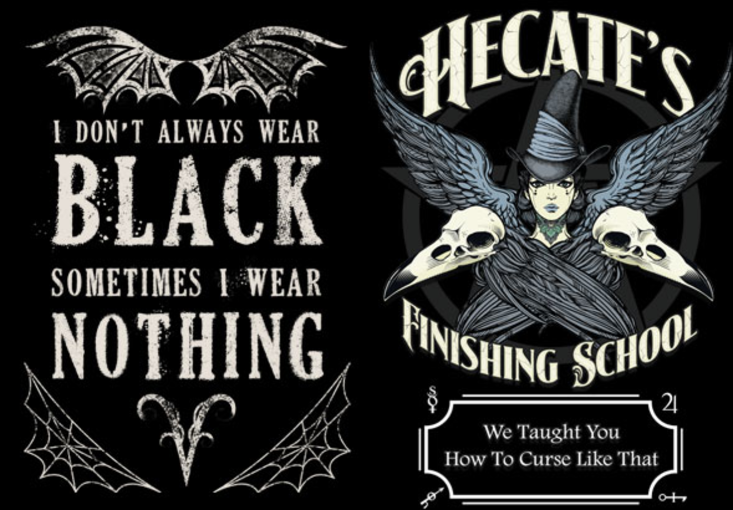 teeVillain: Gothic Palette and Finishing School