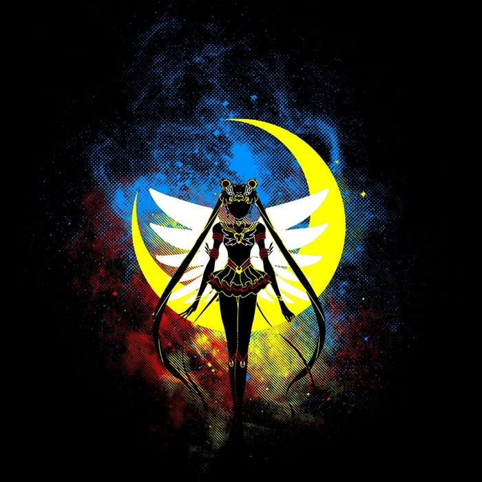Once Upon a Tee: Eternal Moon Art