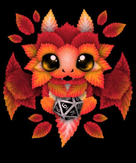 Qwertee: Dragon of leaves