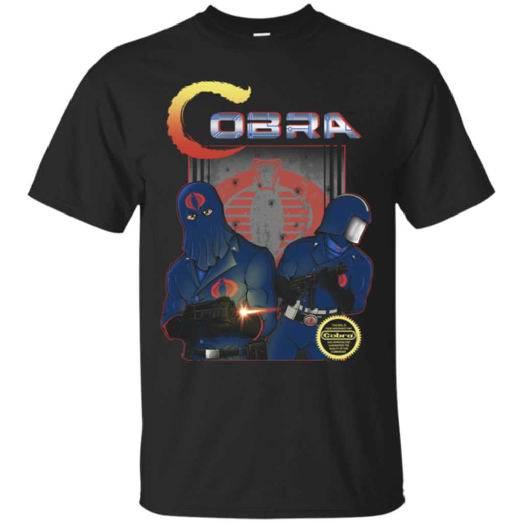 Pop-Up Tee: COBRA