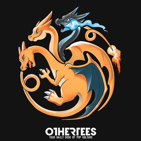 OtherTees: Fire, Flying and Dragon