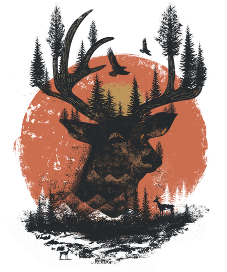 Qwertee: Look Deep Into Nature