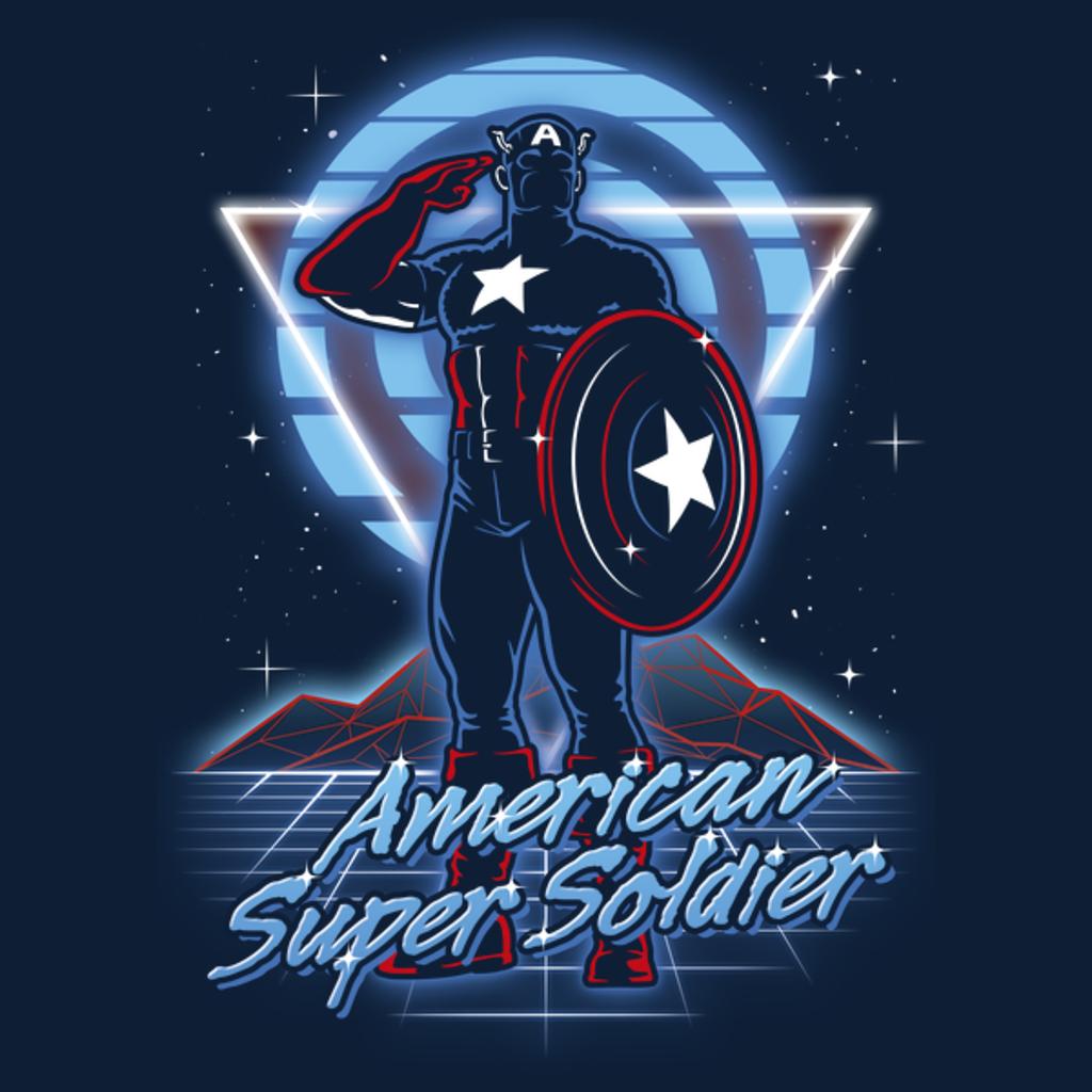 NeatoShop: Retro American Super Soldier