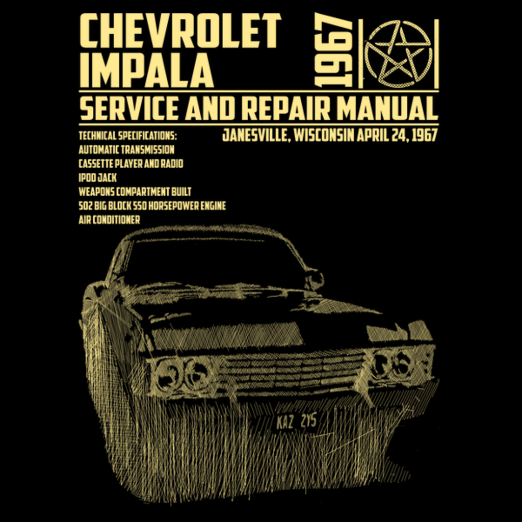 NeatoShop: CHEVROLET IMPALA 1967 SERVICE AND REPAIR MANUAL