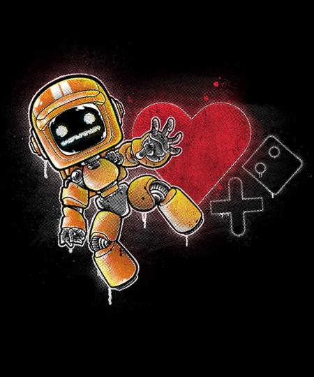 Qwertee: Love Death + Graffiti