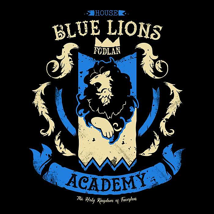 Once Upon a Tee: Blue Lion's Academy